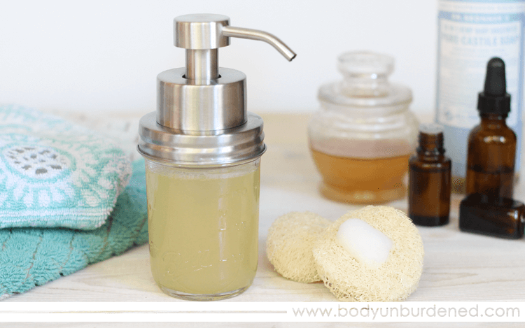 Homemade Natural Clarifying Foaming Facewash recipe