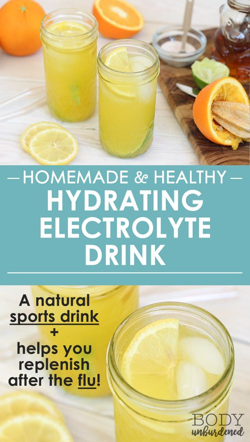 This homemade and healthy electrolyte drink keeps you hydrated while out in the sun or exercising. Plus, it's so easy to make and tastes great!