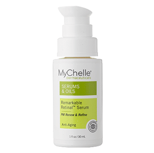 8 Natural Anti-Aging Skincare Products that Mean BUSINESS! | Best natural anti-aging skincare products | MyChelle retinol serum