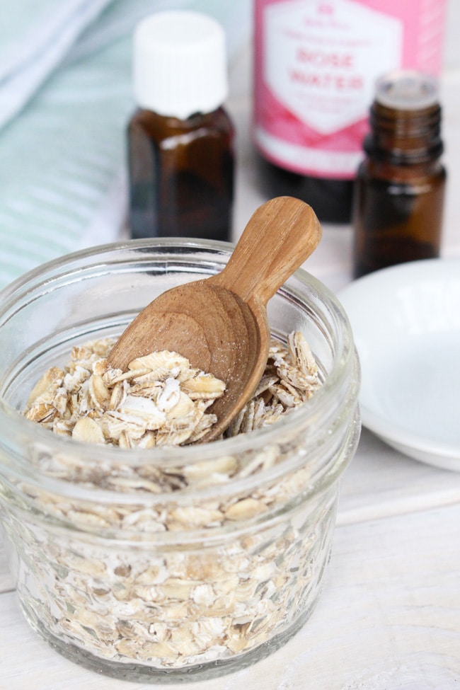 Oats make a fantastic addition to DIY acne masks for those with sensitive skin