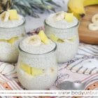 This Protein-Packed Pina Colada chia pudding recipe will keep you feeling full and your taste buds satisfied!
