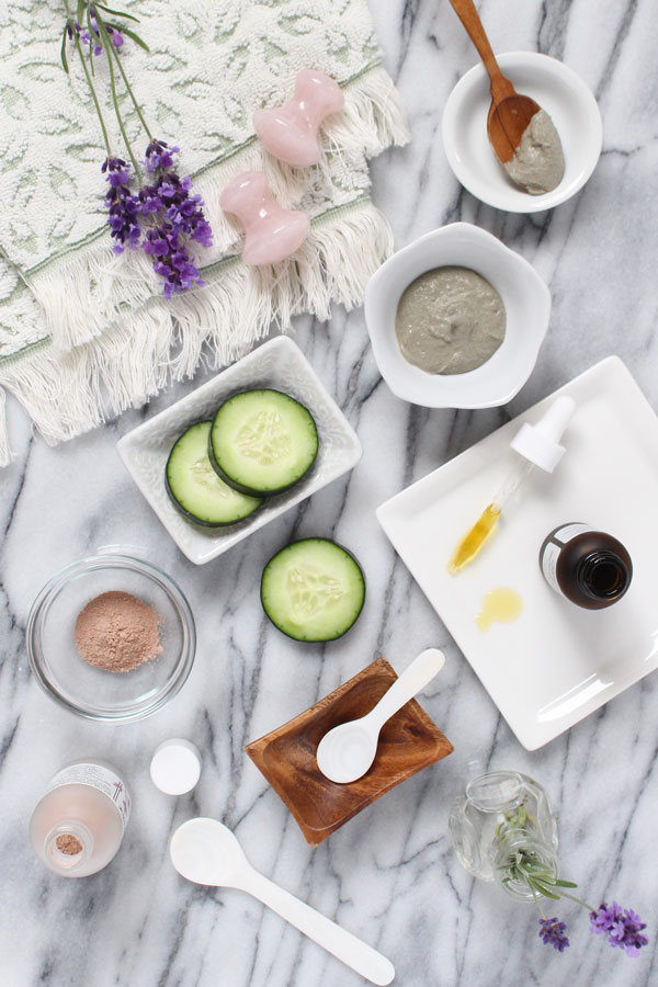 Have to do a facial at home? A holistic esthetician shares her best tips and formula for the ultimate at-home facial!